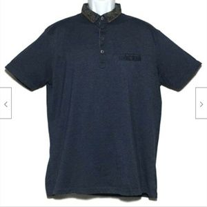 """Steel & Jelly London Polo Shirt XL 43"""" Chest"""